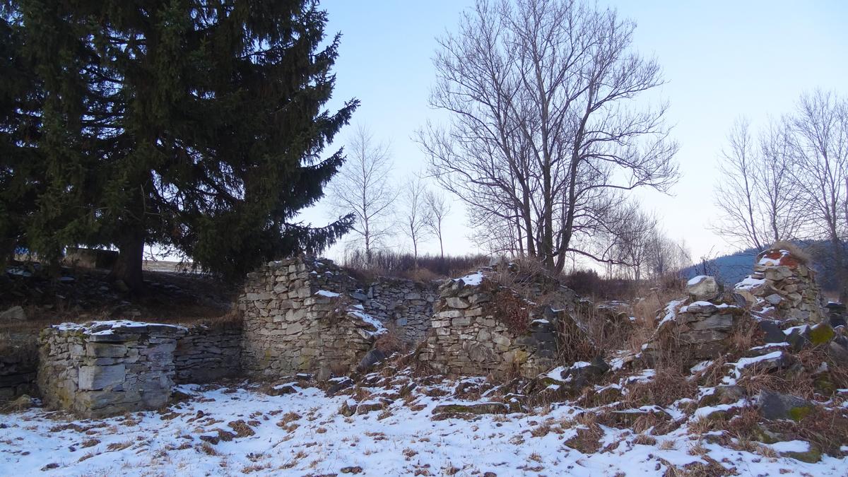 Pozůstatky Schubertova domu