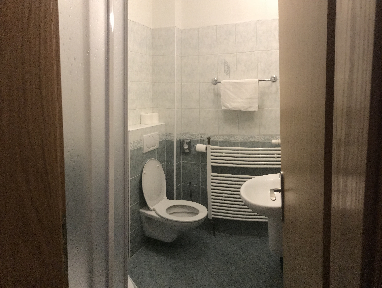 Koupelna - Třílůžkový pokoj